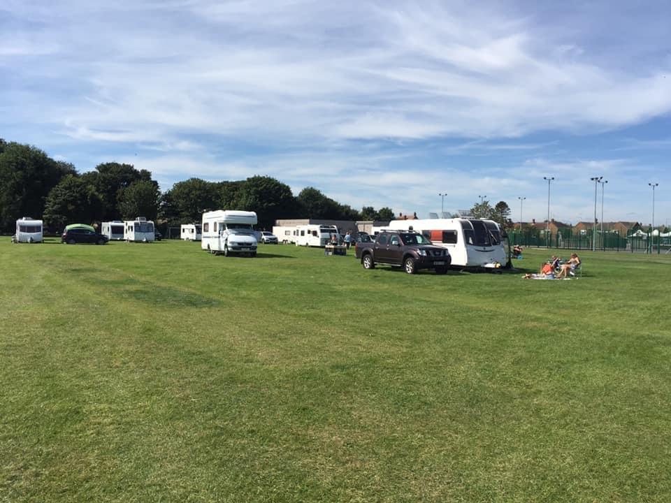 Skegness Camping Field